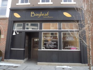 Bayleaf India Bistro is located on Main Street across from Hunter Hall and Buchwald Center. Photo by Olivia Spoon